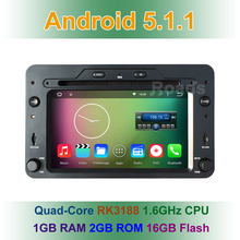 Quad Core Android 5.1.1 Car DVD Player for Alfa Romeo Spider Brera 159 Sportwagon with GPS Navigation BT Wifi Radio