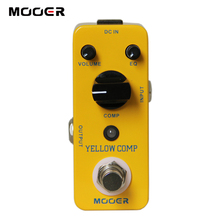 MOOER Yellow Comp Compressing Compressor Sound Effects Pedal for Electric Guitar(China)