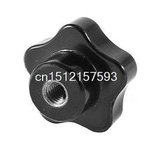 M8 8mm Female Thread 40mm Dia 25mm Height Star Head Clamping Knob