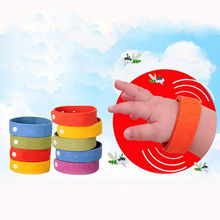 5pcs Anti Mosquito Bug Repellent Wrist Band Bracelet Insect Nets Bug Lock Camping(China)