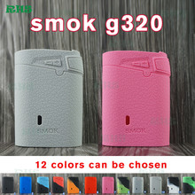 New SMOK Marshal G320 Silicone Case Bag Colorful Rubber Sleeve Protective case/cover/sleeve/ For Smoktech G 320 Watt TC Box(China)