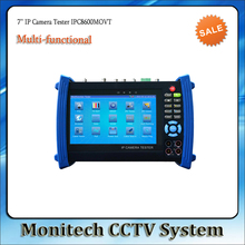 IPC-8600MOVT 7 inch Touch Screen IP Camera CCTV Security Tester IPC Tester with TDR /OPM/ MULTI/ VFL test Support ONVIF/WIFI,etc