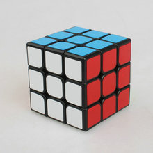 Magic Cobo Newest Cyclone Boys 3x3x3 Strengthened Version Magic Cube Stickerless Colorful Learning&Educational cubo de cube(China)