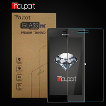 Thouport For Sony Xperia M2 Aqua Tempered Glass 9H HD Screen Cover Protector Protective Film Glass For Sony M2 Retail Box