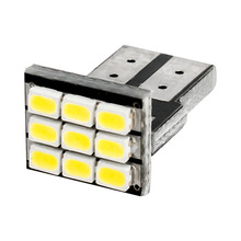 10pcs T10 LED Wedge Light Bulb 9 SMD 1210 LED W5W 2825 158 192 168 car parking light auto Dashboard Indicator Instrument Lights