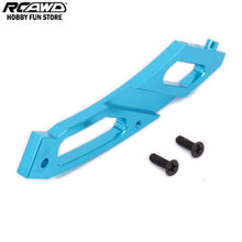 RCAWD Rear Anti-Bending Plate Chassis Brace For Rc Hobby Car 1/10 HPI WR8 Series Flux 108023 101210 101268 WR80016