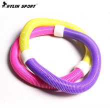 Genuine soft spring hula hoop thin waist  Less emphasis hula abdomen belly female fitness equipment for children