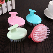 Head Hair Washing Scalp Massage Brush Skin Care Muscle Relax Body Shower Hair Washing Scalp Comb Massage Brush Random Color