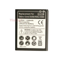 Cisoar 2300mAh EB535163LU Replacement Battery For Samsung Galaxy Grand DUOS I9080 I879 I9118 I9082 GT-i9082