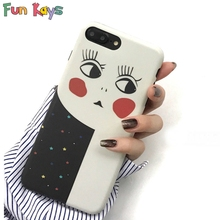 Fun Kays Cute Set Baby Faxe Phone Case Luxury Slim Soft Back Cover Phone Cases Coque Accessories(China)