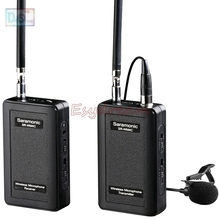 Saramonic SR-WM4C VHF Wireless Radio Lavalier Microphone System for Canon 6D 70D 5D Mark II III IV DV GoPro Hero 3 3+ 4 5
