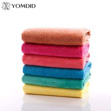 Solid Microfiber Bath Towel Face Hair Body Bath Quick Dry Adults Washclothes Super Absorbent Swimwear Shower Towels Face Towel