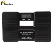 Portable 150kg Weight Scale 2.1 inch LCD Screen Black 330LB Electronic Digital Balance Body Health Fitness - dependonu store
