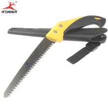 RDEER Hand Saw SK5 Folding Saw Three Sides Cutting Edges Hacksaw Garden Pruning Shears Tools