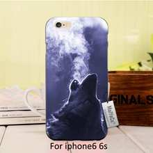 MaiYaCa soft black tpu Under the latest tiger watercolor animal orangutan on wolf phone case For iPhone se 5s 6s 7 plus case(China)