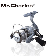 Mr.Charles  YB2000-5000 2016 New Quality 8BB+1RB Spinning Fishing Reel Aluminum Spool Body Quality Stainless steel