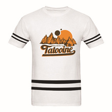 Star Wars Welcome to Tatooine Adult T Shirt  Men's 100 % Cotton Mens Casual Tee Shirt Custom Print Tees Top Euro Plus Size S-3XL