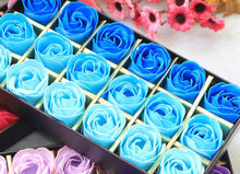 YANQINA Decoration Body Whitening Soap Bath Soap Rose Petal Wedding Party Gift 18Pcs(China)