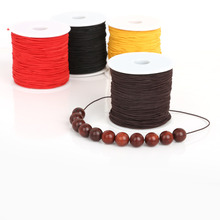 40-100m/lot 0.8mm/1.2mm/1.5mm Stretchy Elastic Cord String Rope for DIY Jewelry Making Bracelets Necklaces,5 color to pick(China)