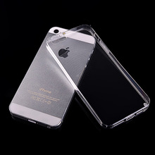 Transparent ultra thin Christmas phone cases for Iphone 5 5s TPU sillicone housing Celular Fundas Soft back cover clear