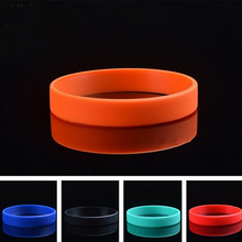 Buy 10PCS Unisex Trendy Silicone Rubber Flexible Wristband Wrist Band Cuff Bracelet Bangle Women Men bands Bracelet Team Game for $3.82 in AliExpress store