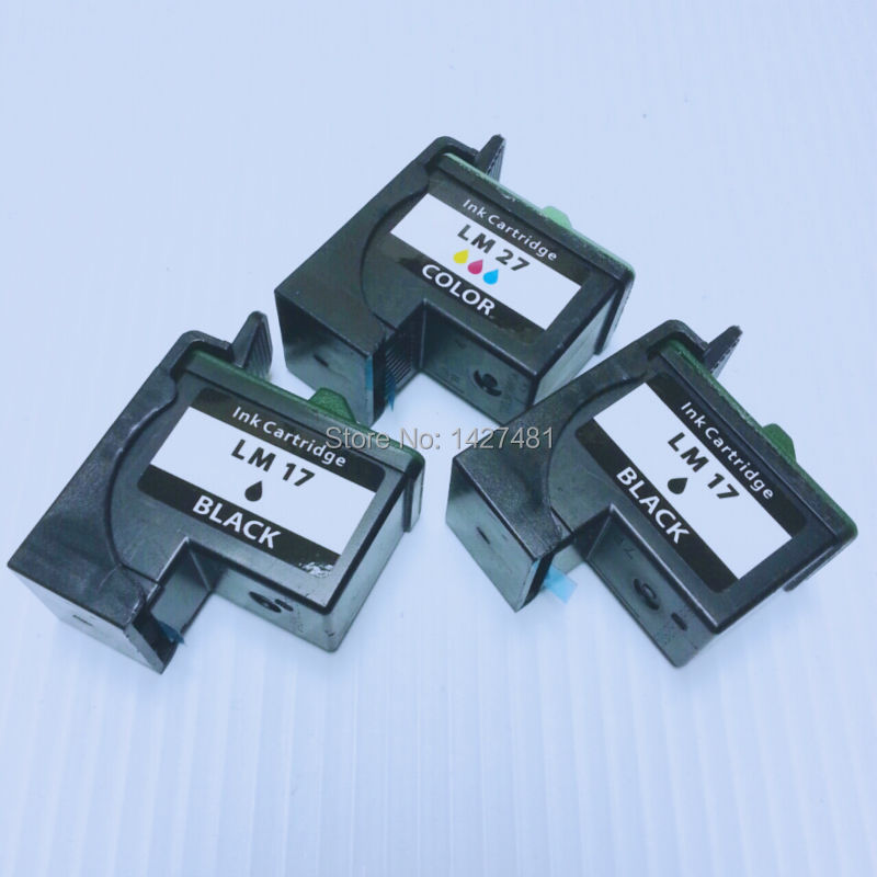 Remanufactured cartridge10N0017 10N0027 for Lexmark 17 27 LM17 LM27 For Z13/Z23/Z24/Z25/Z33/Z34/Z35/Z515/Z601/Z603/Z605/Z615/X74<br><br>Aliexpress