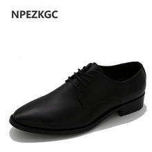 Buy NPEZKGC Mens casual shoes luxury genuine leather flats business formal shoes mens party dress oxfords shoes zapatos hombre for $26.93 in AliExpress store
