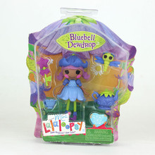 5Style Choose 3Inch Original MGA Lalaloopsy Dolls and Accessories Packaged With the Box, For Girl's Toy Playhouse Each Unique(China)
