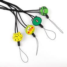 Mr.orange Mobile Phone Lanyard  Cartoon Hyaluronic Duck Key Lanyard Mobile Keychains Neck Straps Anti-theft Mobile Phone chain
