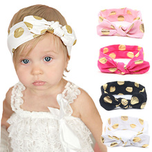 Baby Girl Lovely Bow Headband Flowers Polka Dot Hairband Turban Knot Headwear For Newborn Infant Toddler accesorios para el pelo