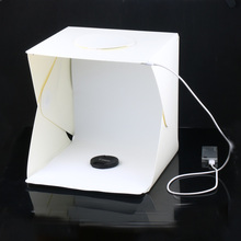 Small Medium Large Portable Folding lightbox Photography Photo Studio Softbox Lighting Kit Light box for Phone Digital Camera
