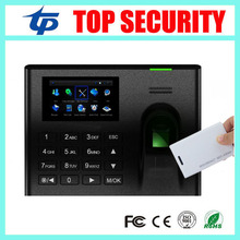 Linux system live ID fingerprint reader TCP/IP USB biometric fingerprint time attendance recorder with free software and SDK