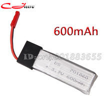 Free shopping Wholesale 600mAh 3.7V Li-Poly battery V929-09 For WLToy V929 V949 V959 V969 V979 V989 V999 4CH  RC Helicopter