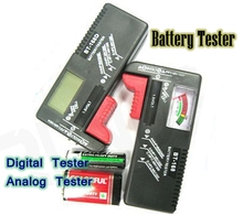 BT-168 Universal Battery Checker Tester for1.5V  AA AAA  9V 6F22, Retail and wholesale.