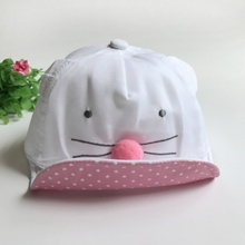 Cute Cartoon Mice Hat For Baby Kids Girls Boys Baseball Cap Child Cotton Hat 1 To 3 Years Head Wear