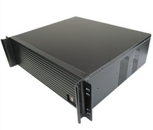 Computer server case 3U380mm ultra-short industrial Chassis quality aluminum panel Support 19 rack(China)