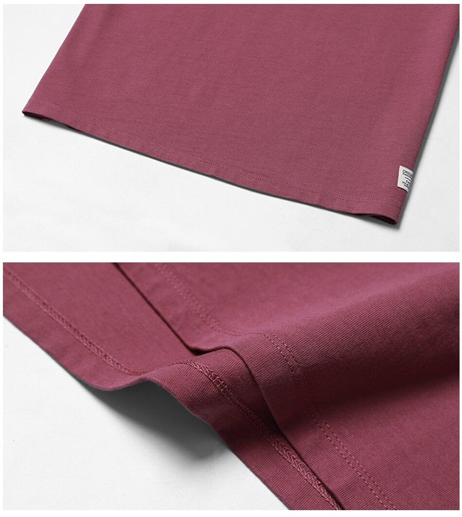 SIMWOOD 2018 Automne À Manches Longues T-shirt Hommes 100% Pur Coton Slim Fit Drôle de Mode De Poche Tops Haute Qualité TC017004 26