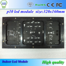 Ali Express China Indoor P10 LED Module 320*160mm 32*16 Pixels 1/8Scan SMD3528 3in1 RGB Full Color LED Display Screen