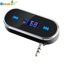 Superior Quality Practical Car Kit Wireless FM Transmitter MP3 Player USB SD LCD Remote Handsfree Jan05