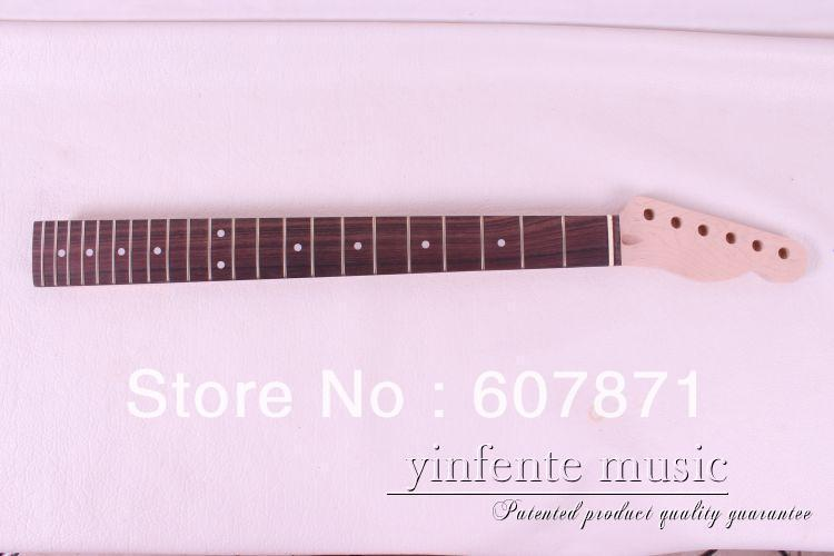New high quality Unfinished electric guitar neck Mahogany made maple fingerboar<br>