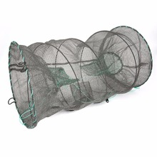(Ship From Russia & China) Crab Crayfish Lobster Catcher Pot Trap Fishing Net Eel Prawn Shrimp Bait Eel Lobster Crawfish Net