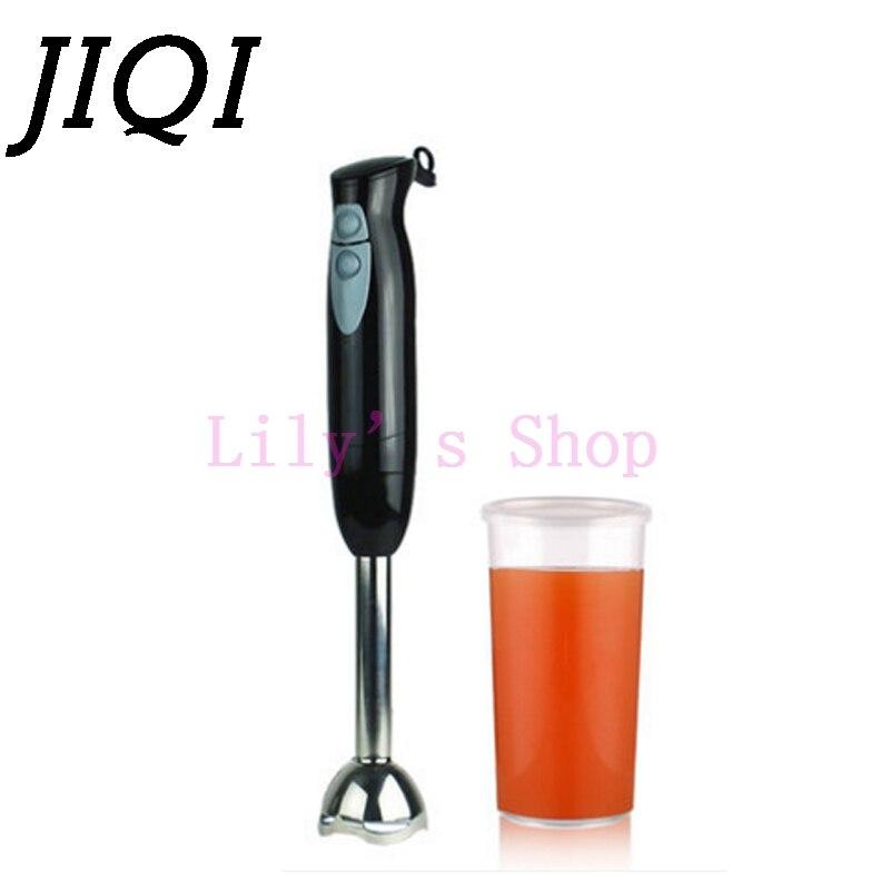 JIQI Handle Blender Fruit Vegetable Juice Mixer Food Processor juicer Baby Food cooking machine Porridge Milk Shake 450W EU US<br>