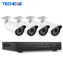 Auto Zoom lens 2.8-12mm 2.0 Megapxiels POE IP Camera Video Security Surveillance System 4CH PoE 48V NVR Recorder POE CCTV System