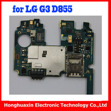 with Android System for LG G3 D855 32GB Motherboard,100% working original for LG G3 D855 Logic Boards with Chips(China)