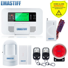Buy Spanish Russian Voice Wireless GSM SMS Home Water Leakage Security Burglar Alarm System LCD Display Auto Dialing Free for $64.40 in AliExpress store