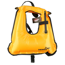 TheNice Portable Inflatable life jacket Super light Buoyancy vest Float ring Snorkeling dive suit Equipment swim For Adult Kids(China)