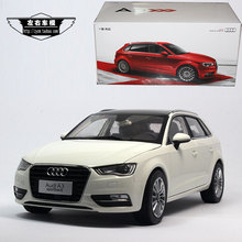Brand New 1/18 Scale Germany Audi A3 Sportback 2014 Diecast Metal Car Model Toy For Gift/Collection/Decoration