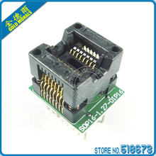 2pcs/lot SO16 SOIC16 SOP16 to DIP16 Adapter Wide 150MIL IC Test Socket Free Shipping