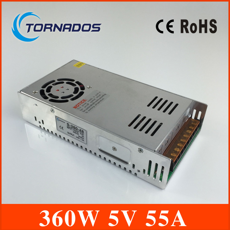 S-360-5 dc 5v  360w switching power source supply 5v LED driver good quality power supply dc 5v<br><br>Aliexpress