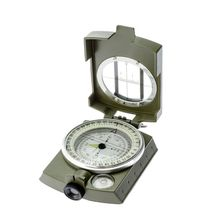 Waterproof Professional compass Military Army Geology Compass Sighting Luminous Compass for Outdoor Hiking Camping 43bp(China)